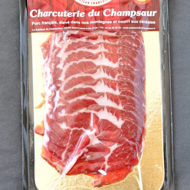 Coppa en tranches Salaison du Champsaur Saint Laurent du Cros Hautes Alpes Charcuterie Artisanale en ligne
