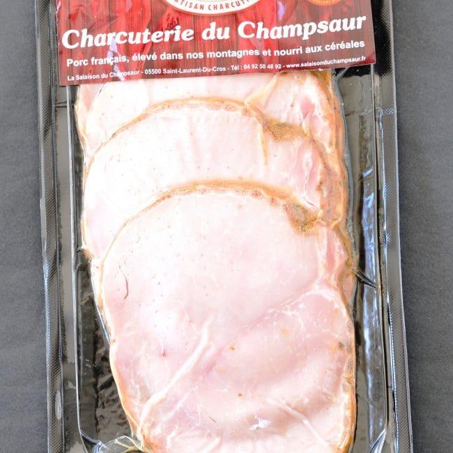 Rôti de porc Salaison du Champsaur Saint Laurent du Cros Hautes Alpes Charcuterie Artisanale en ligne