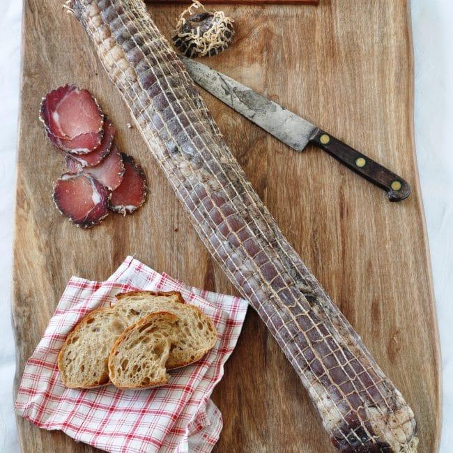 Filet mignon de porc séché Salaison du Champsaur Saint Laurent du Cros Hautes Alpes Charcuterie Artisanale en ligne